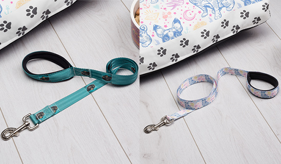 Win a custom dog lead from Bags of Love!