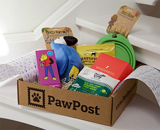 PawPost Dog Box