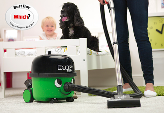 Win a Henry Pet vacuum cleaner!