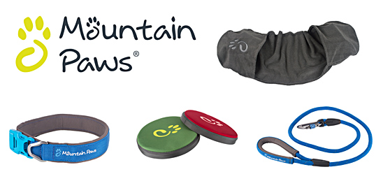 Win a bundle of dog-walking goodies from Mountain Paws!