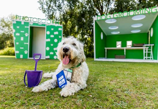dog passport booth