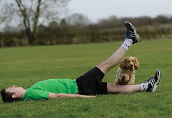 Get fit with your dog with these simple exercises